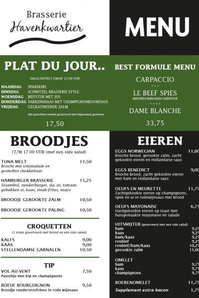 havenkwartier_menukaart