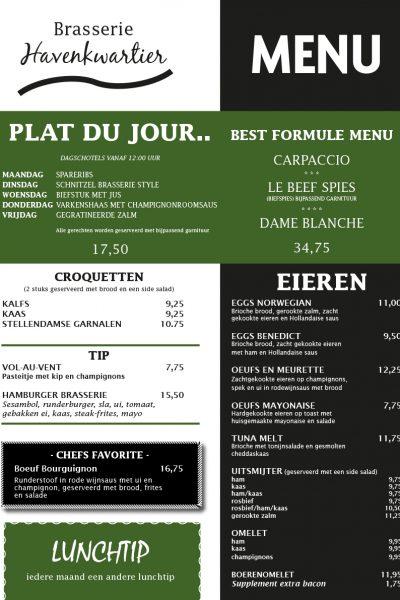 brasserie_havenkwartier_menukaart